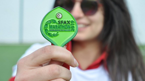 Médaille SFAX Marathon International