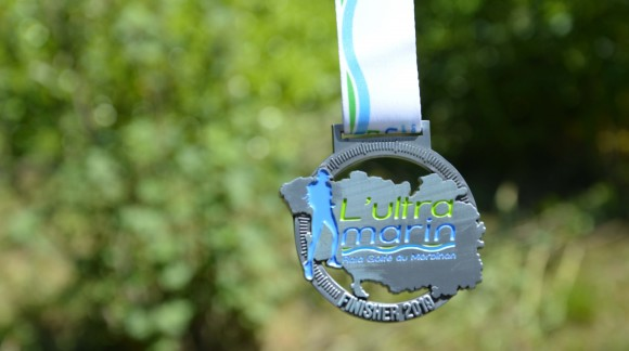 Médaille Finisher Ultra Marin